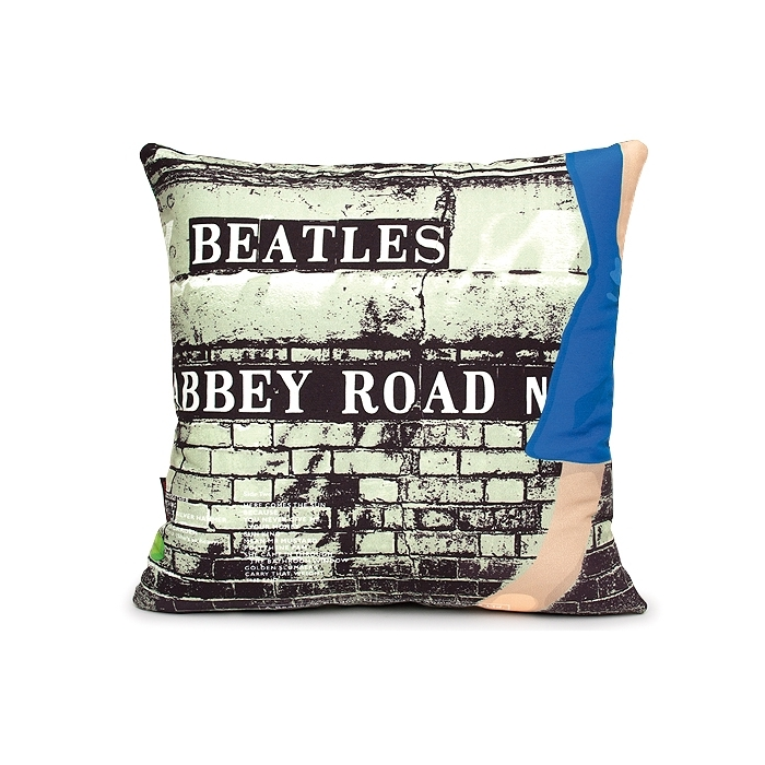 Coussin Woouf Abbey Road