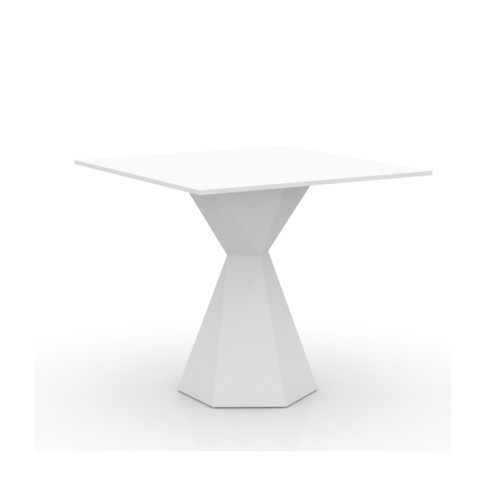 Table carrée VONDOM Vertex, mate