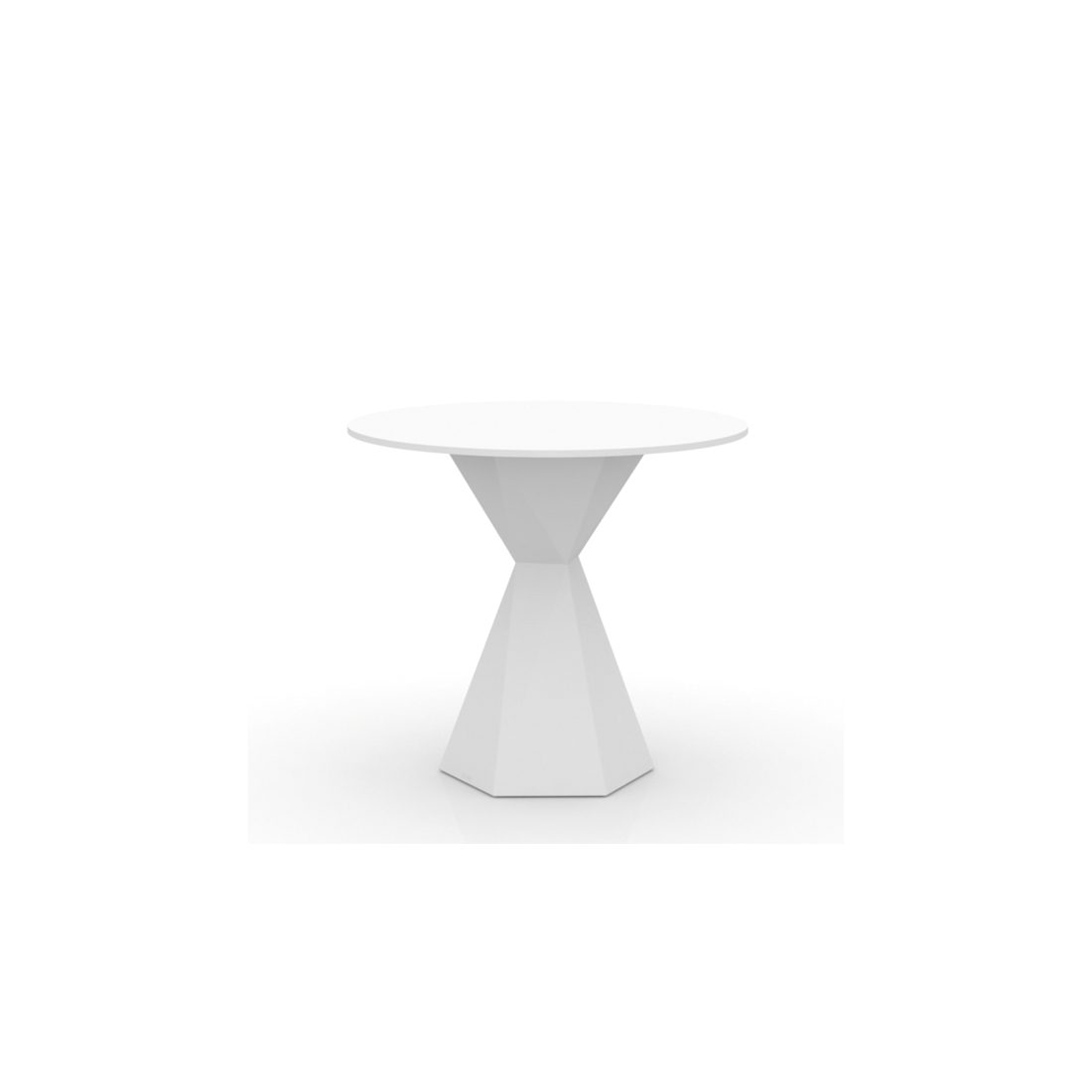 Table ronde lumineuse design vertex vondom zendart design for Table exterieur lumineuse