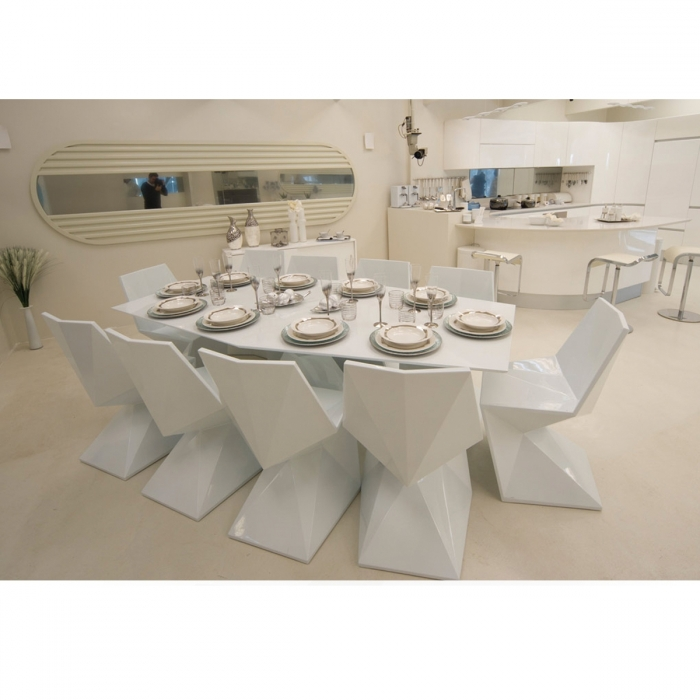 Table VONDOM Vertex Full White