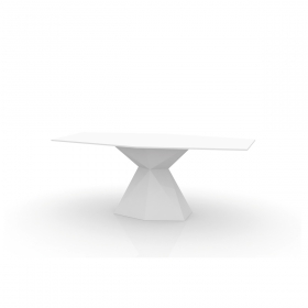 Table VONDOM Vertex Full White, LED RGB