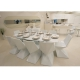 Table VONDOM Vertex Full White, lumineux