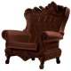 Fauteuil design Queen of love