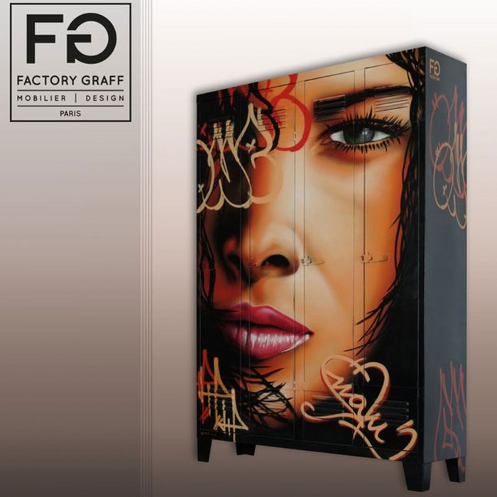 Armoire design BALI NIGHT par factory Graff