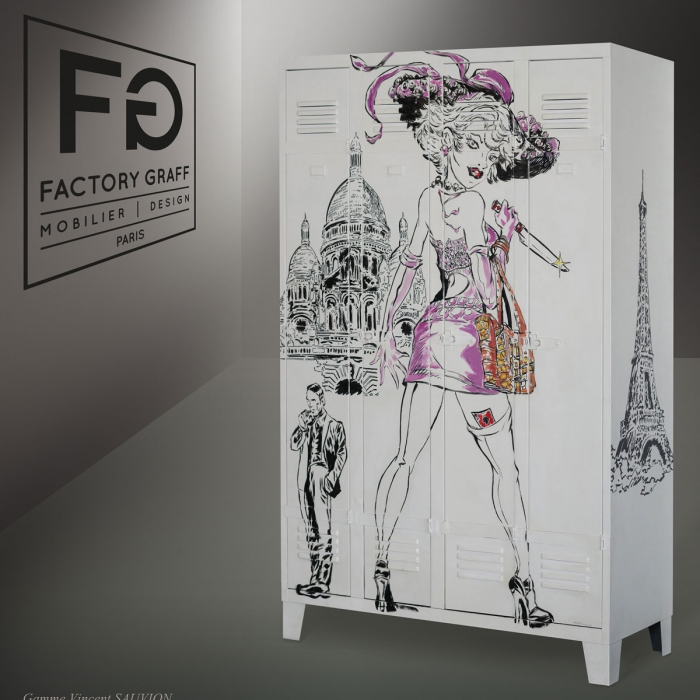 Armoire design FACTORY GRAFF Paris