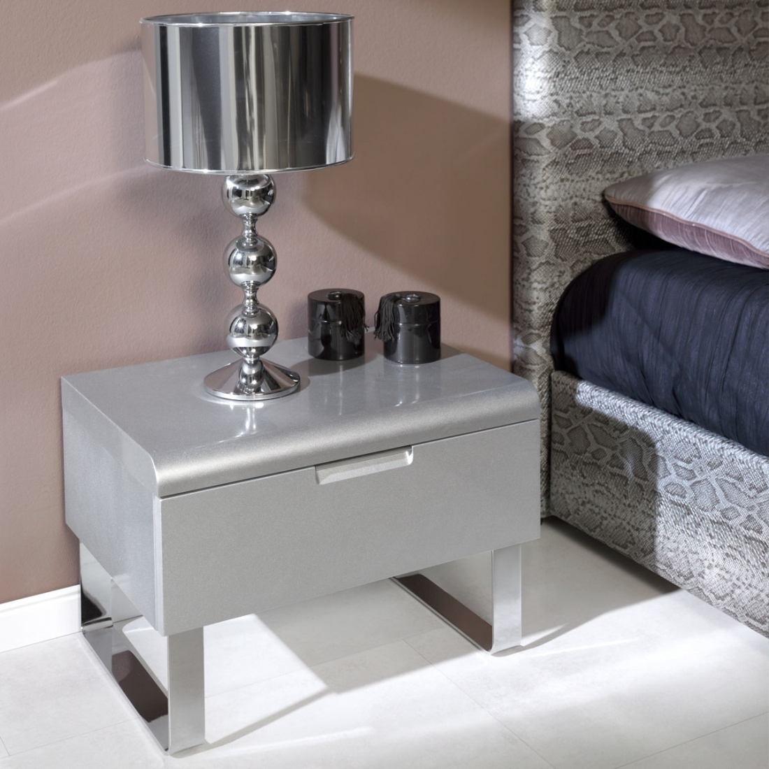 Table de chevet collection contempo zendart design for Veilleuse chambre a coucher