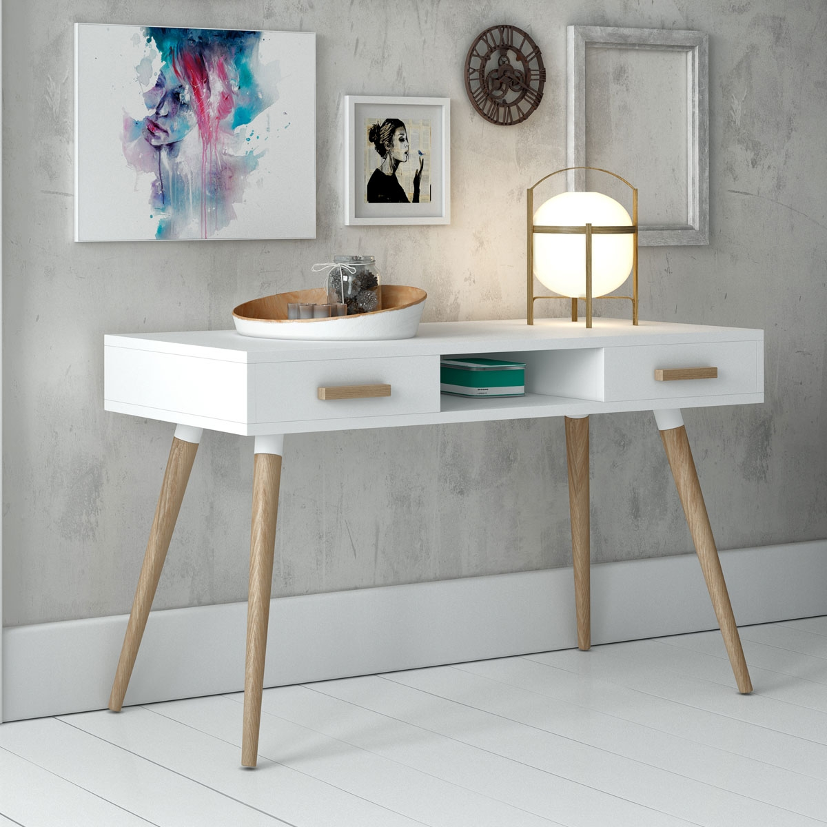 Console design collection compas for Recibidor estilo escandinavo
