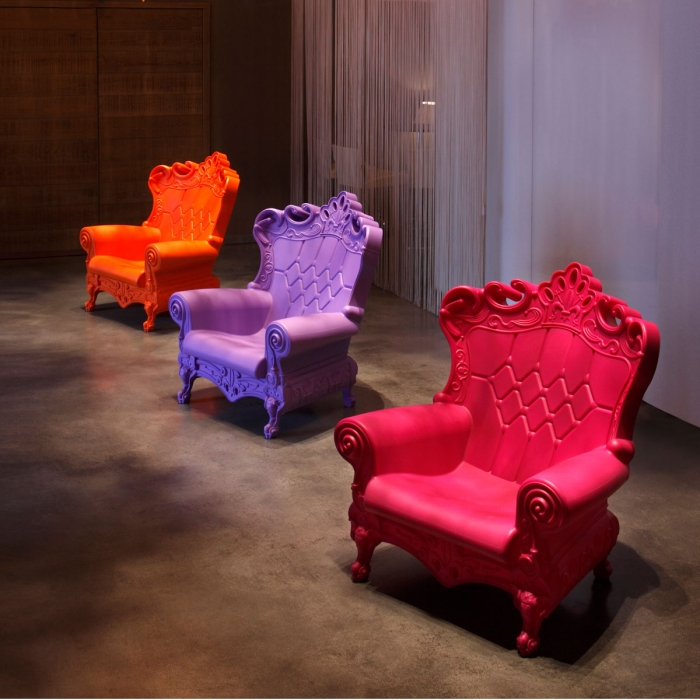 Fauteuil design DESIGN OF LOVE Little Queen of Love