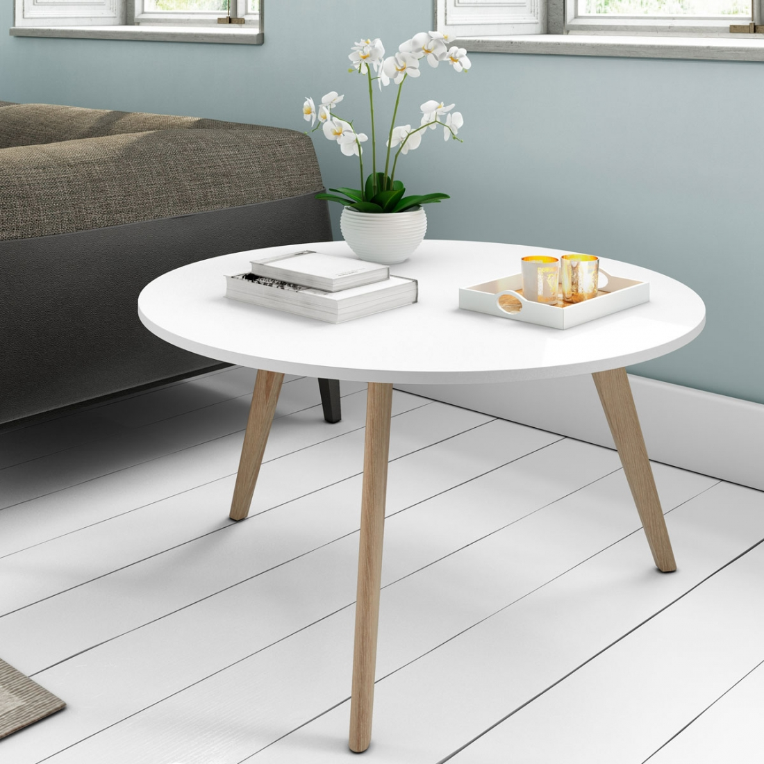 Guide d co r ussir son salon design blanc blog zendart design - Table basse salon design ...