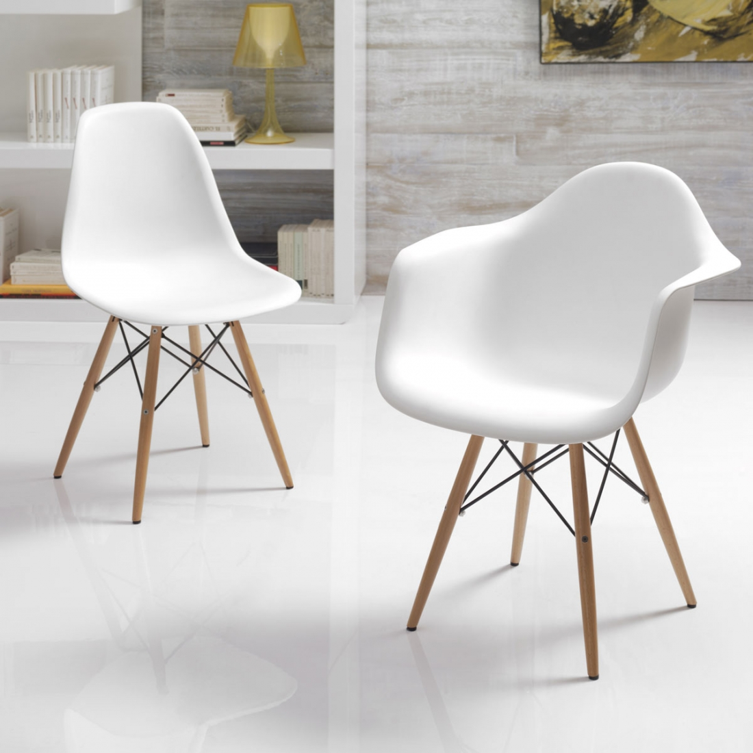 Guide d co r ussir son salon design blanc blog zendart design for Petit fauteuil salon design