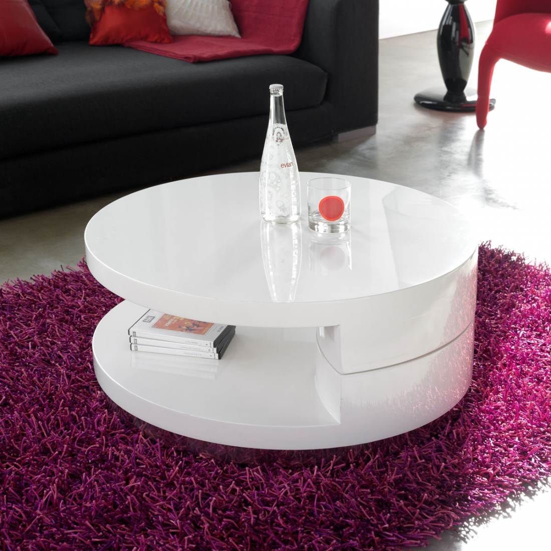 Table basse design pivotante zendart design - Table basse pivotante ...