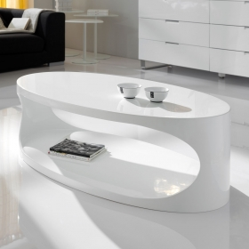 Table basse design Ellipse
