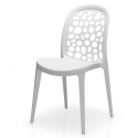 Chaise design empilable Bullo