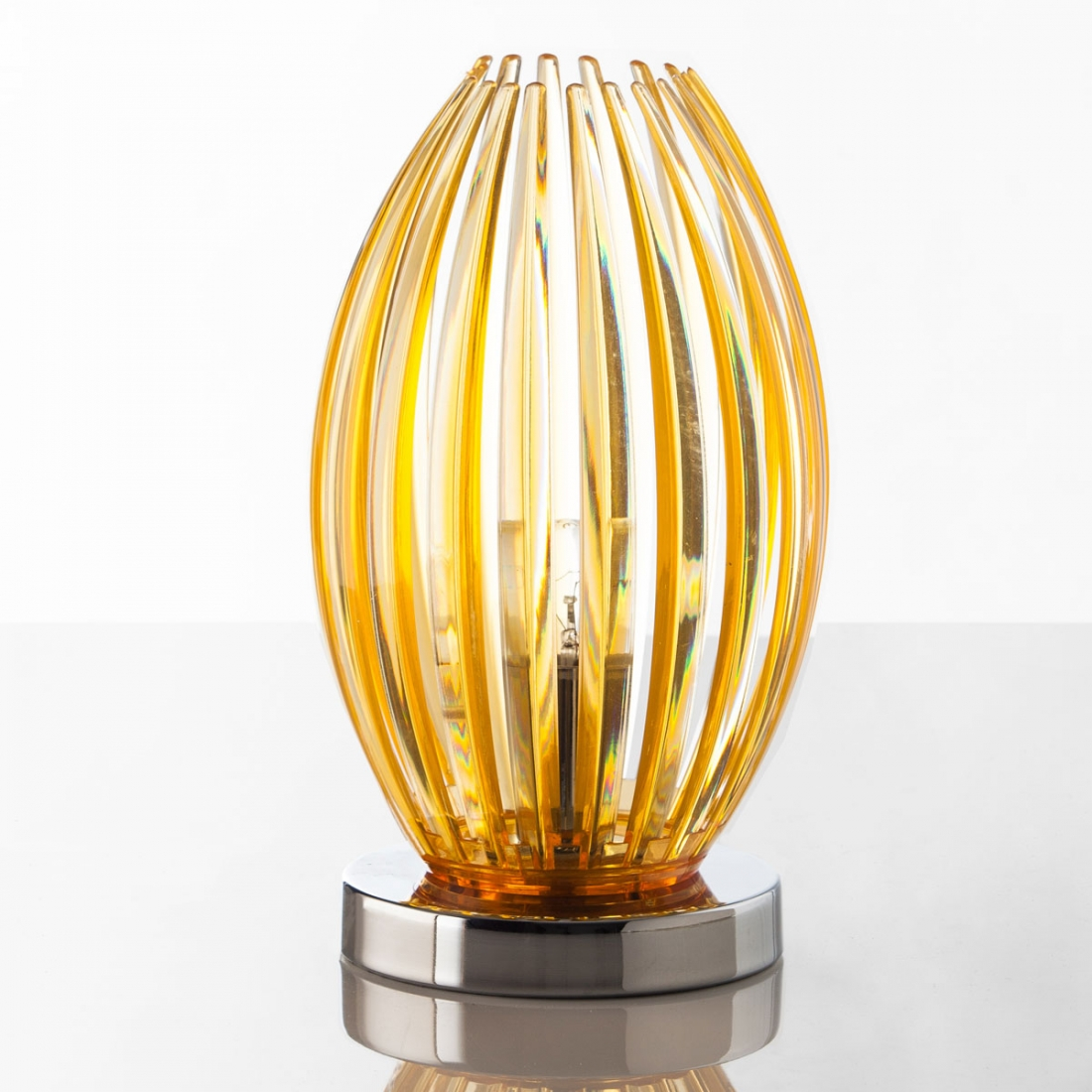 Lampe design Corolle Or