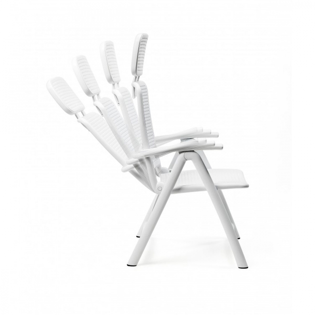 Fauteuil de jardin design nardi acquamarina for Chaise pliable design