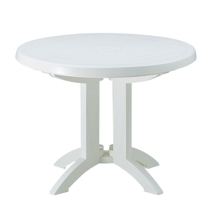 Best Table De Jardin Blanc Ronde Pictures - House Design ...