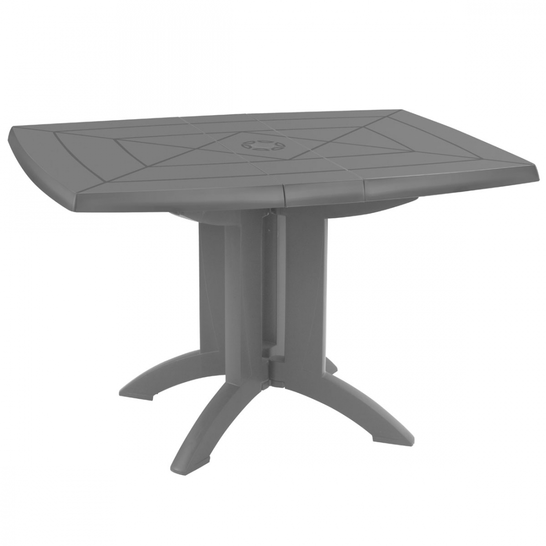 Table de jardin pliante vega grosfillex - Table de jardin octogonale ...