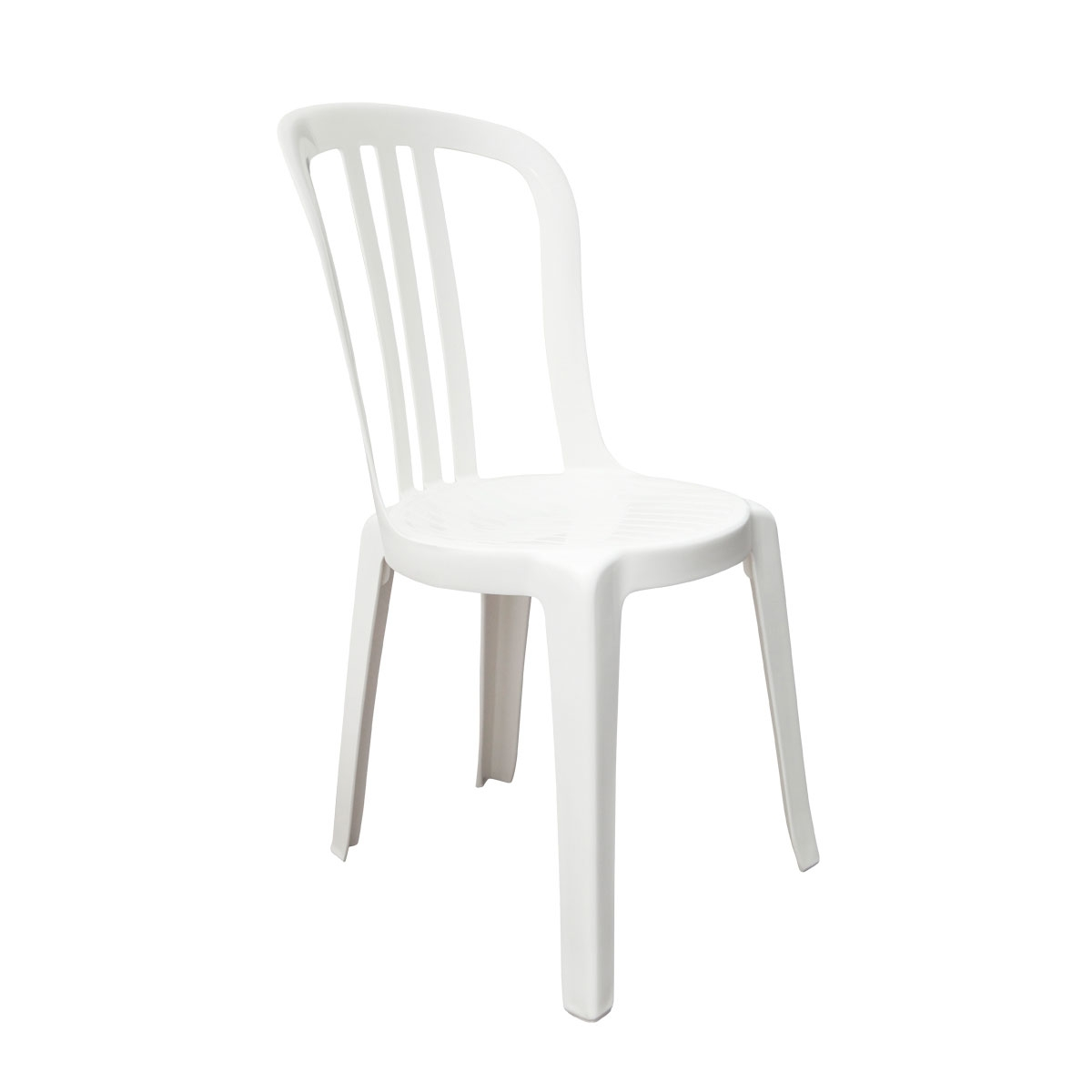 Chaise de jardin monobloc design grosfillex bistrot for Chaise jardin