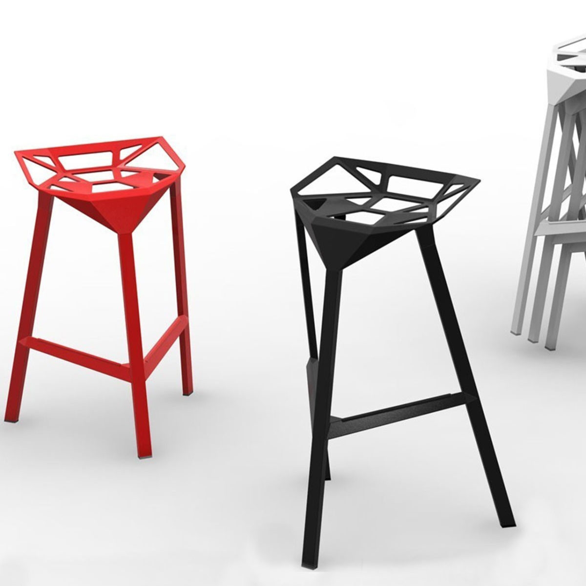 Tabouret design magis stool one xl - Tabouret de bar starck ...