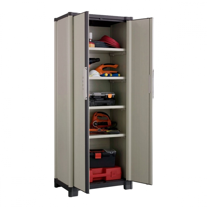 armoire haute de jardin workline 70hp grosfillex. Black Bedroom Furniture Sets. Home Design Ideas