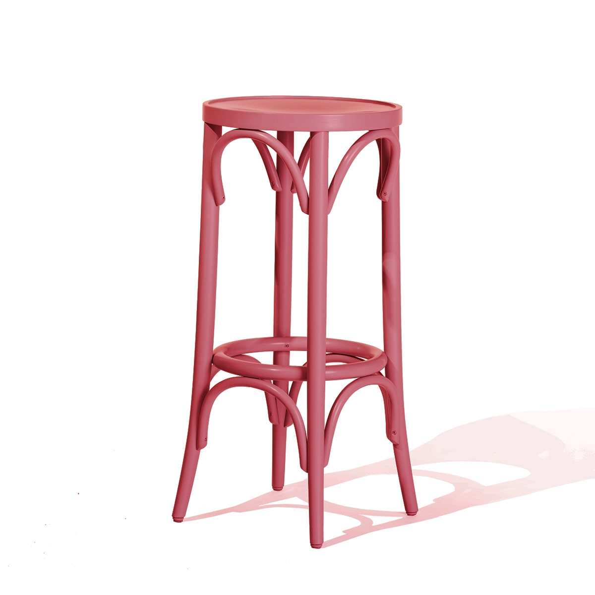 tabouret bar rose. Black Bedroom Furniture Sets. Home Design Ideas