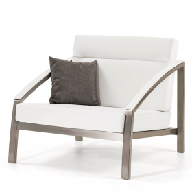 Chaise design sofa-set en Skaï Club TODUS