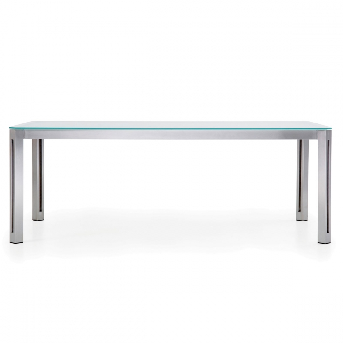 Table design aria rectangle hpl todus for Table exterieur hpl