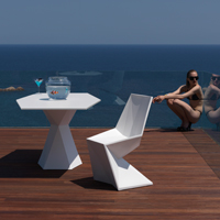 Chaise design VERTEX de VONDOM avec Arts Design Déco