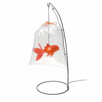 Lampe design « Poisson d'Avril » TUNG DESIGN avec Arts Design Déco
