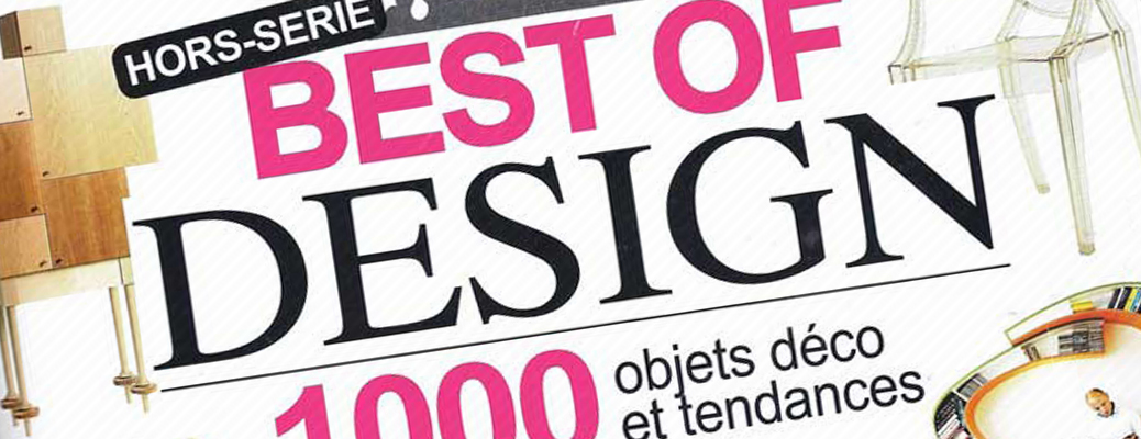 Magazine deco design toute l 39 actualit du design chez for Deco design magazine