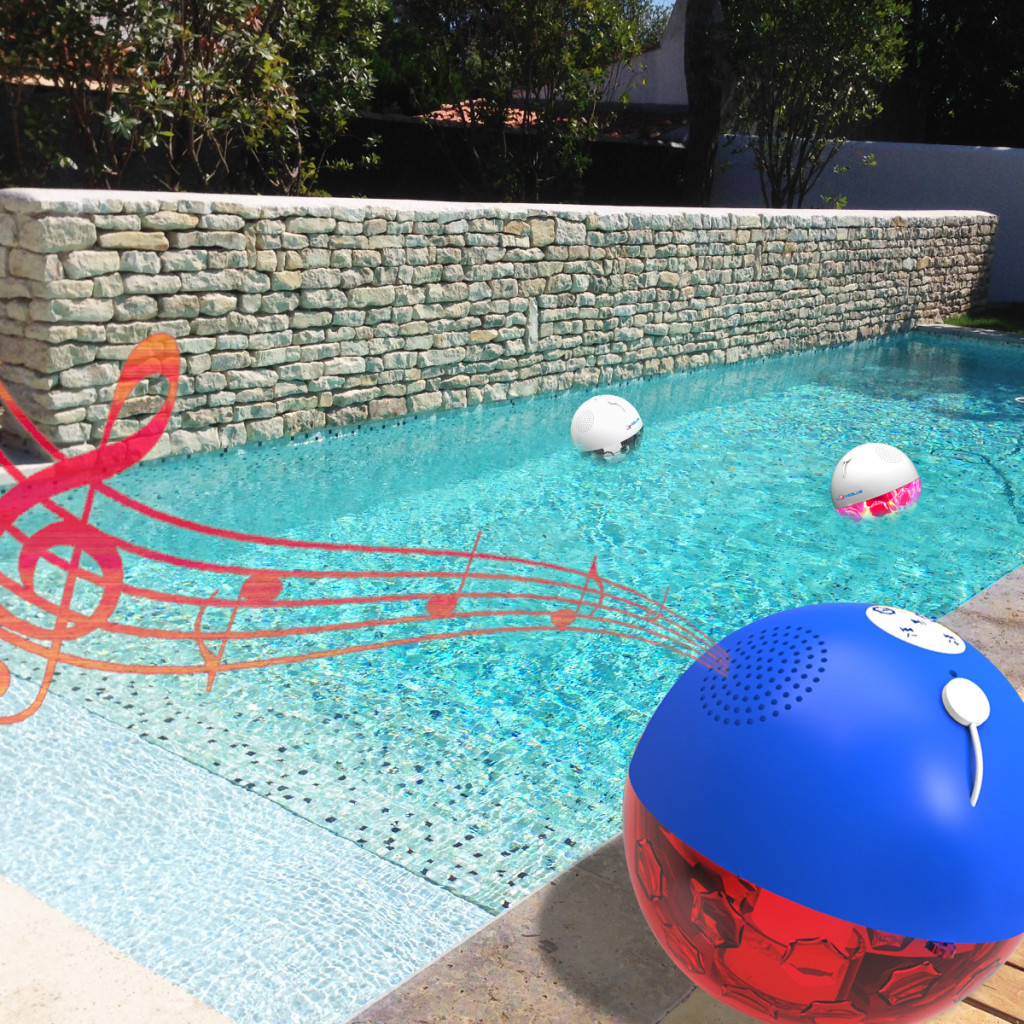Enceinte Ball Piscine RGB Bluetooth