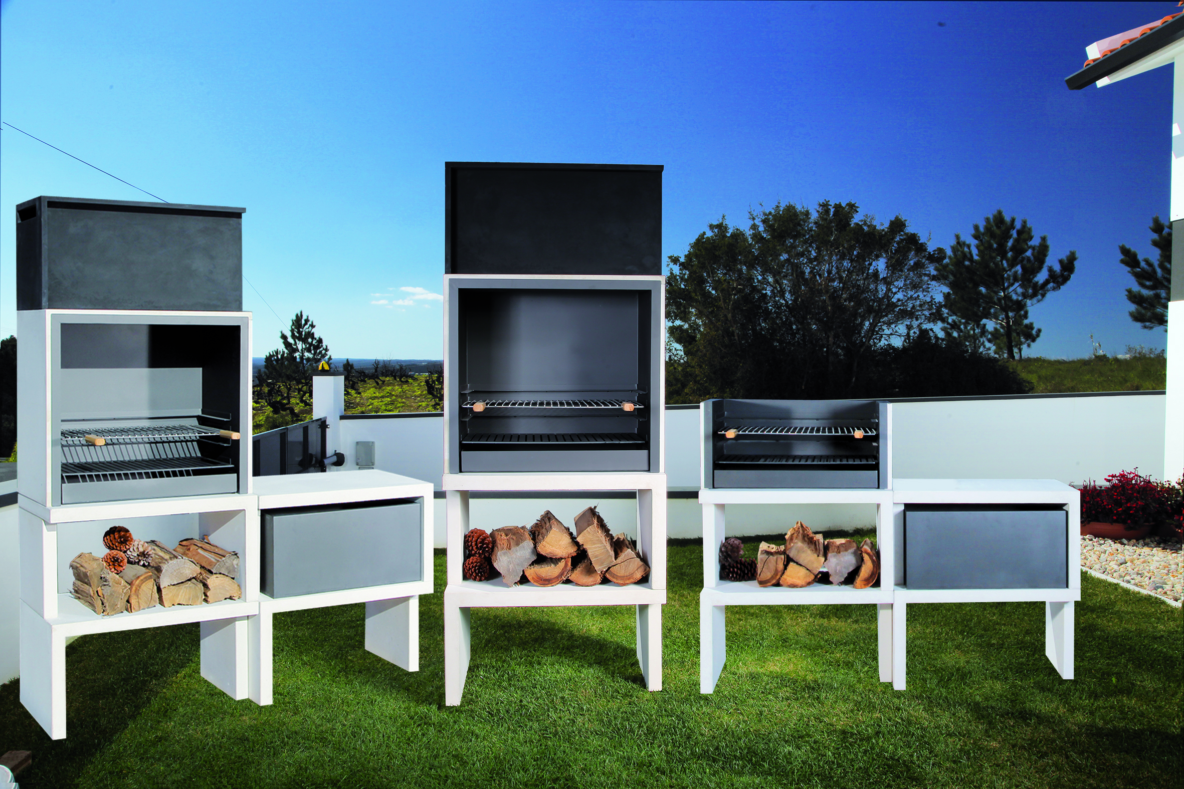 le design futuriste des barbecues blive blog zendart design. Black Bedroom Furniture Sets. Home Design Ideas